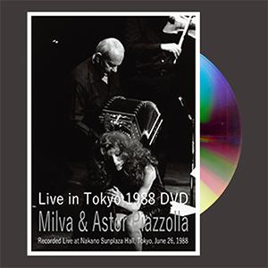 Milva & Astor Piazzolla / Milva & Astor Piazzolla Live in Tokyo 1988 [DVD]