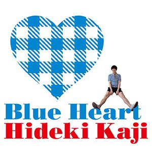 HIDEKI KAJI / BLUE HEART